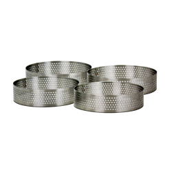 Lot de 4 cercles micro-perforés diamètre 10 cm Ard'time