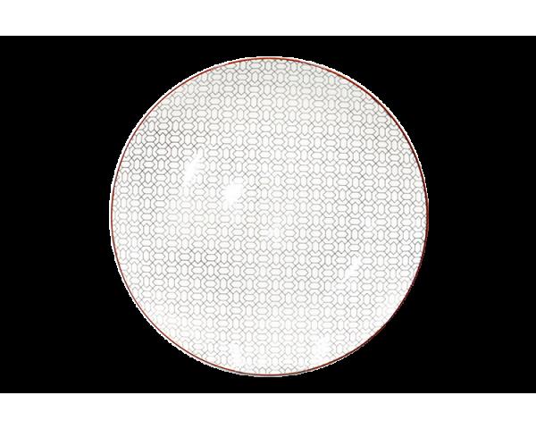 Petite assiette Slow design asiatique gris anthracite Ard'time