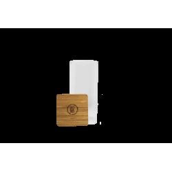 3 Bocaux de conservation Bo Byo 850ML en verre borosilicate et couvercle en bois de bambou EC-3BOCAR850