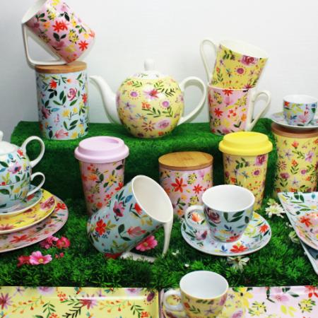 Gamme de vaisselle Flowers inspiration British